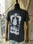 "rake surfboards : "" MAGIC BUS "" Tシャツ (BLACK)"