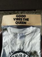 "ink:ink×kurry""GOOD VIBES THE QUEEN""Tee"