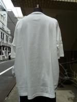 STORAMA(ストラマ)STREET EMBROI WIDE T-SHIRTS   WHITE