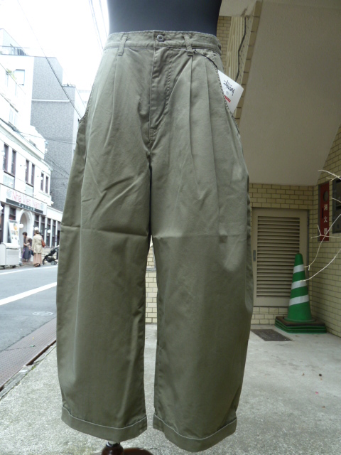 STORAMA(ストラマ)Authentic Street slacks  KHAKI