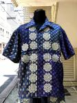 ink(インク):BANDANA PATTERN SHIRT/BLUE/M ①