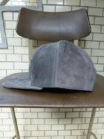 "ink(インク):  ""PIG SUEDE CAP"" GRAY"