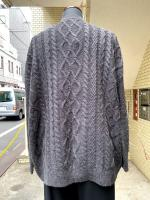 STORAMA(ストラマ)BIG HOLE CABLE SWEATER/BLACK